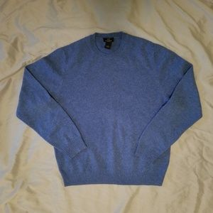 Brooks Brothers 346 Lambswool Blue Sweater M